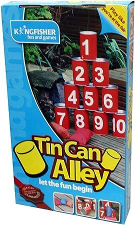 King Fisher GTIN - Juego de latas: Amazon.es: Juguetes y juegos