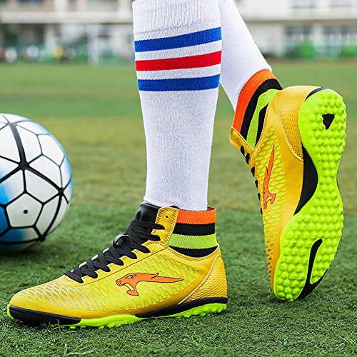 tf Sneakers Cleat Town No Cleat High 66 Soccer Gold AG Firm Top Shoes TF Football Performance Ground BwCZfwqP