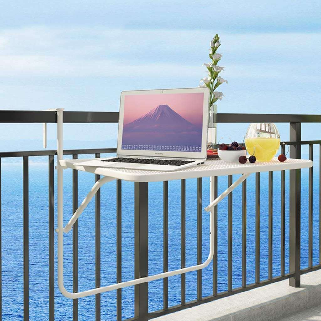 高質で安価 折りたたみテーブル、クリエイティブな吊り下げラック多機能小型デスク、金属製スチールフォールドアウェイテーブルウォールマウント 白、壁掛けアイロンメッシュフォールドアップテーブル調節可能な折り畳みテーブル 白 B07GJT63GH B07GJT63GH, peet official:b7f167ef --- eastcoastaudiovisual.com