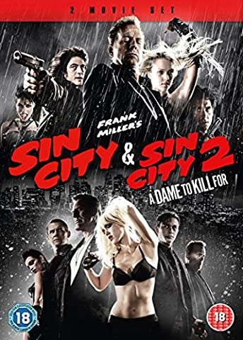 Sin City 1-2 [DVD] (City Of Sin Dvd)