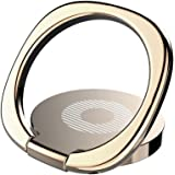 itDEAL スマホ リング 薄型 3mm極薄 落下防止 360度回転 貼り替え可能 マグネット車載ホルダー対応 (ゴールド)