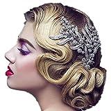 Wiipu Bridesmaid Hair Comb Women Wedding Hair Accessories Leaves Bridal Headpiece Hair Accessories(A1183)