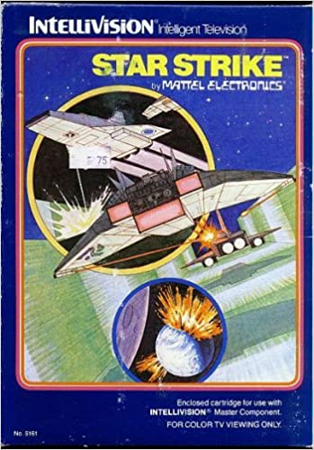 INTELLIVISION STAR STRIKE GAME COMPLETE SET (COMES WITH ORIGINAL BOX