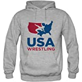 USA Wrestling Mens hoody Sweatshirt