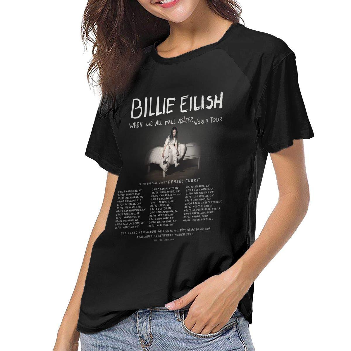 Amazon com: Kangtians CLANN Billie Eilish World Tour Unisex
