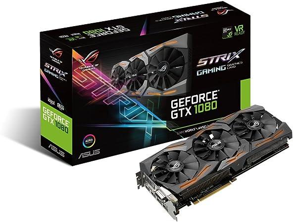 Amazon.com: Tarjeta gráfica Asus GeForce GTX 1080 8GB ...