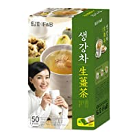 DAMTUH Korean Traditional Tea Premium Ginger Tea Plus, Ginger Powder, Herbal Supplement...