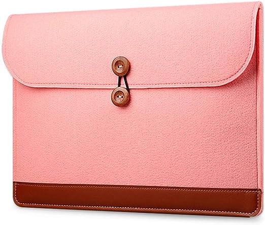 oyfel funda ordenador bolsa funda caja para fieltro rosa portátil ...