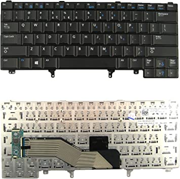 New Dell Latitude E6220 E6230 E6320 E6330 Laptop US Keyboard PD7Y0 Non-Backlit