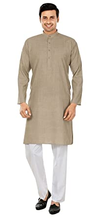 200b8805a2b5 Amazon.com  Maple Clothing Wool Blend Cotton Kurta Pajama Mens ...