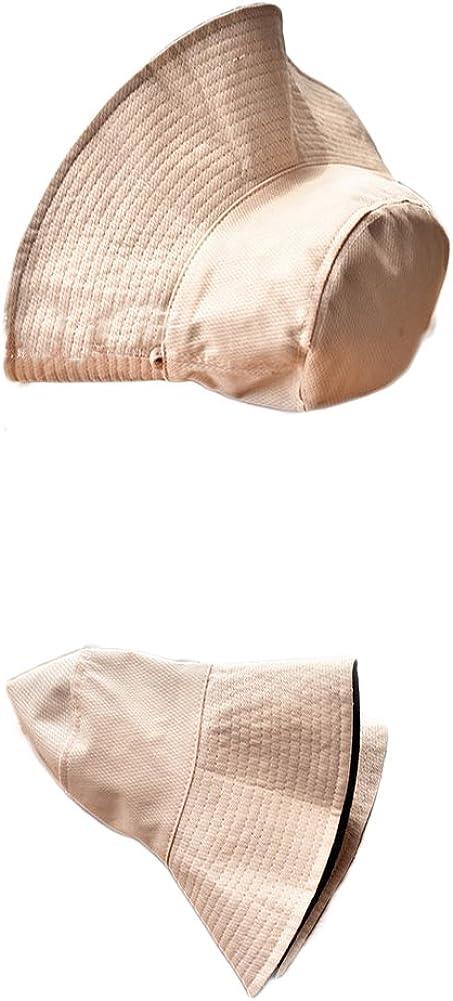 PINGBREIH Allaperto Tesa Larga Cappello da Sole,Estate in Cotone E Lino UV Protezione Pieghevole Impermeabile Visiera Spiaggia Pesca Cappelli per Le Donne