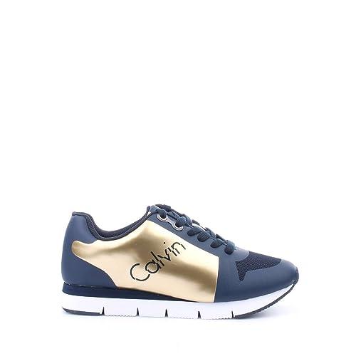 ZAPATILLA CALVIN KLEIN R4115 GID TALINE MARINO 40 Marino: Amazon.es: Zapatos y complementos