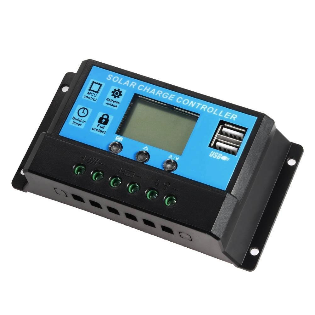 Sun YOBA Solar Charge Controller Solar Panel Controller 30A 12V 24V With Double USB Ports-US Stock by Sun YOBA (Image #4)