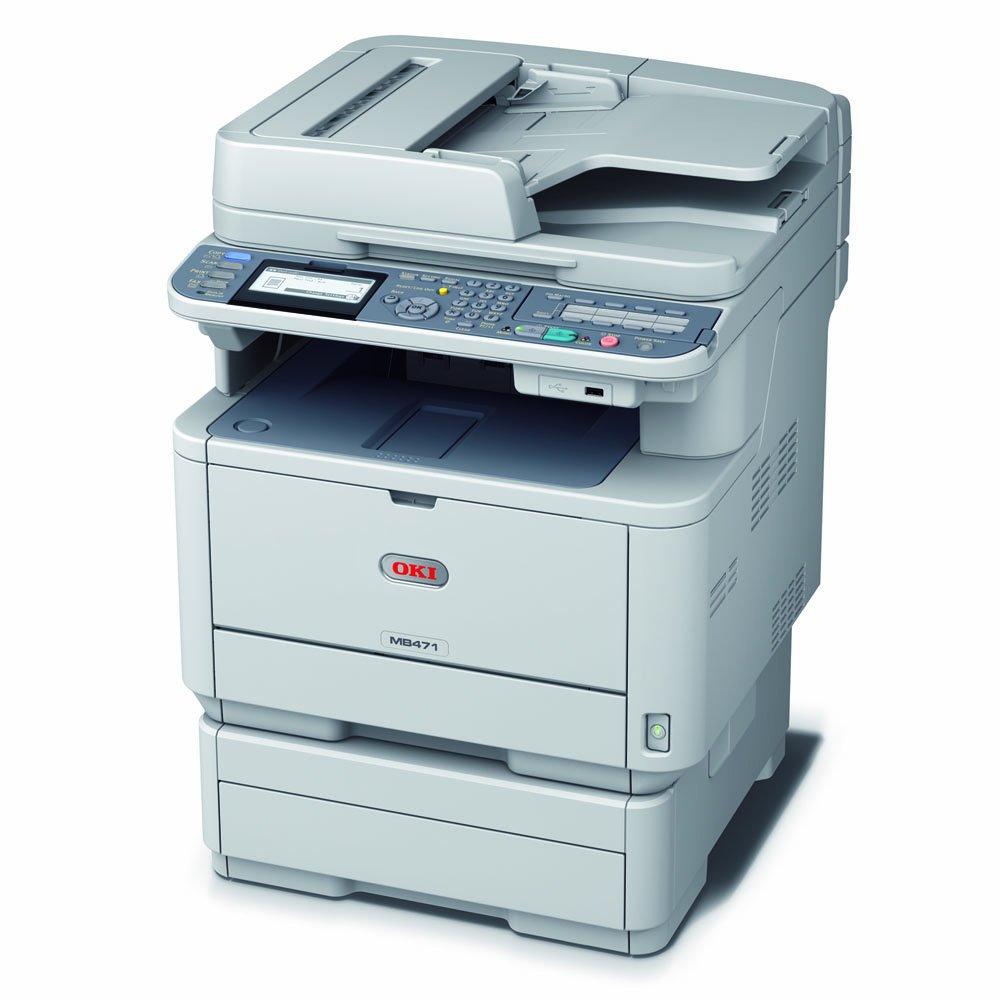 OKI MB471 - Impresora multifunción (Laser, Mono, Mono, 33 ppm, 5s ...