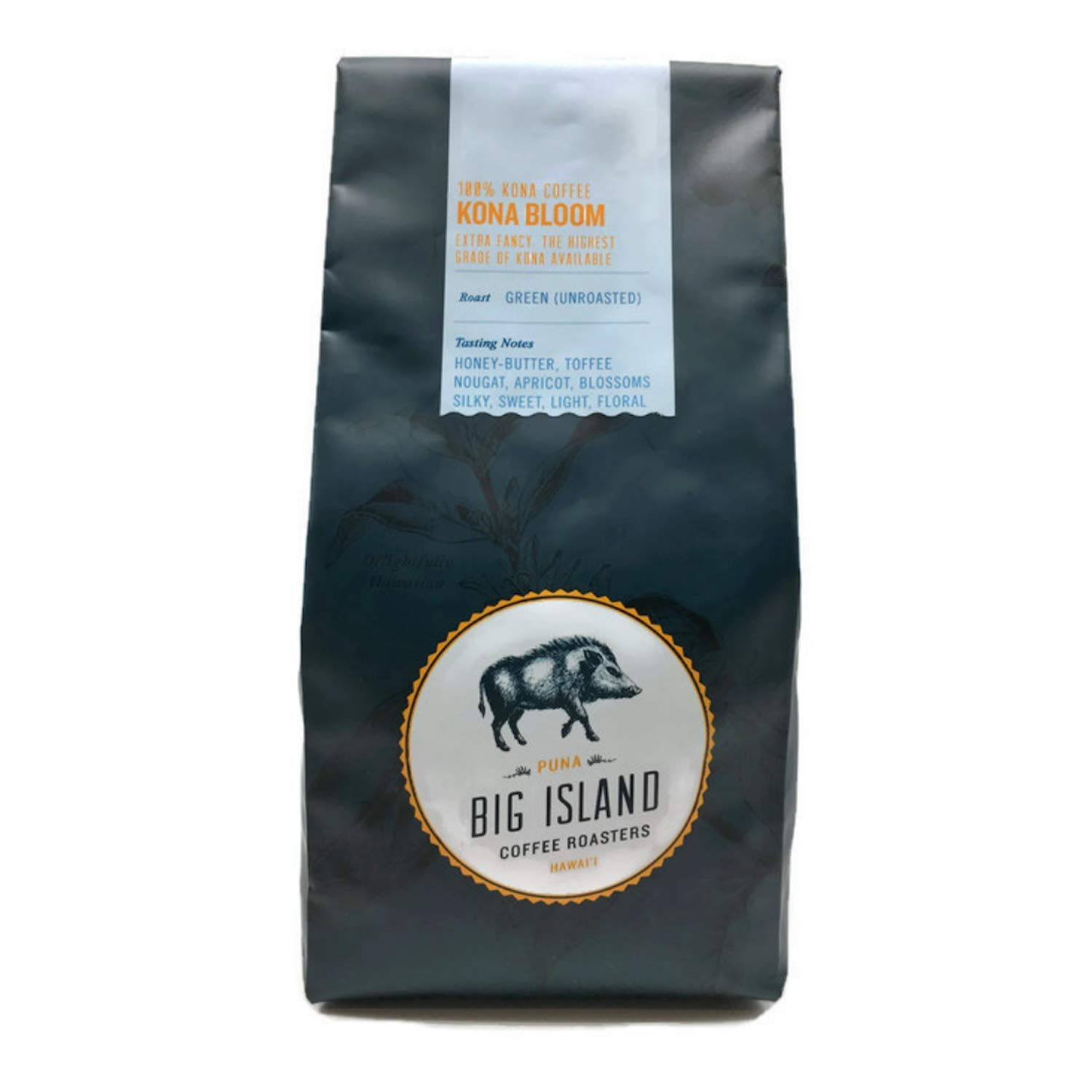 100% Kona green coffee beans - 'Extra Fancy' unroasted Hawaiian Kona green bean (16 oz), from Big Island Coffee Roasters by Kona Green Coffee - Big Island Coffee Roasters