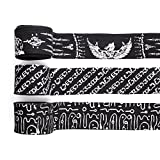 Best Hand Wraps - Battle Forged Professional 180 inch Hand Wraps (Chatri-Black) Review