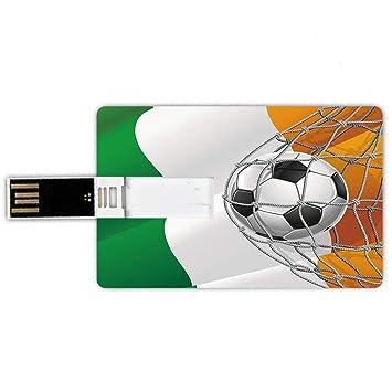 16GB Forma de tarjeta de crédito de unidades flash USB irlandesa ...