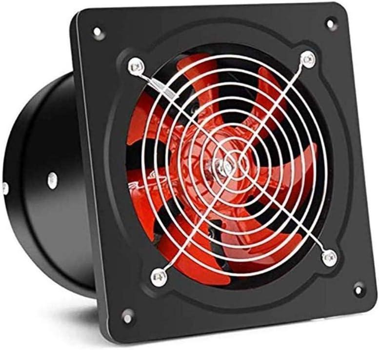 LXZDZ Negro Extintor, Cocina Baño universal de pared delgada de alto rendimiento del ventilador del radiador 8 pulgadas
