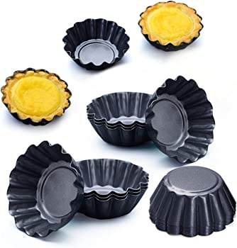 Amytalk 2.6 x 0.9 Inches Egg Tart Pan
