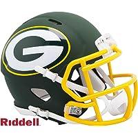 $34 » Green Bay Packers - AMP Alternate Speed Riddell Mini Football Helmet - New in Riddell Box