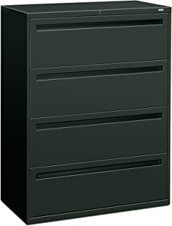 product image for HON 794LS 700 Series 42 by 19-1/4-Inch 4-Drawer Lateral File, Charcoal