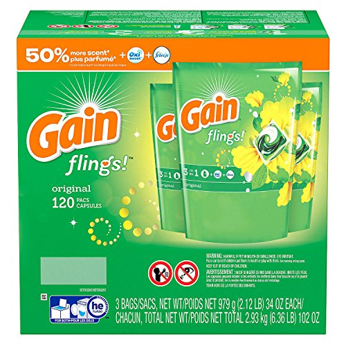 Gain Flings Original (120ct.) by GAIN