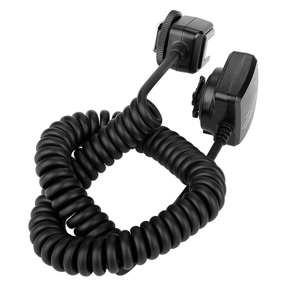 Oumij Meike MK-FA02 3m TTL Off-Camera Cord Cable 3m Off-Camera Flash Shoe Cord for Sony MI Hot Shoe Mount Speedlites for Cameras and Flash Speedlite by Oumij