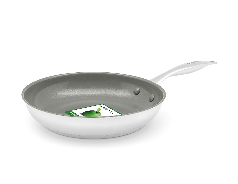 GreenChef Profile Plus Stainless Steel 20 cm Ceramic Non-Stick Frying Pan GreenPan CC000866-001