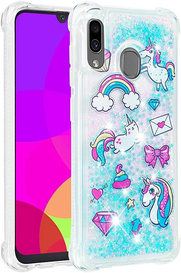 A20 A30 Case 3D Cute Unicorn Horse