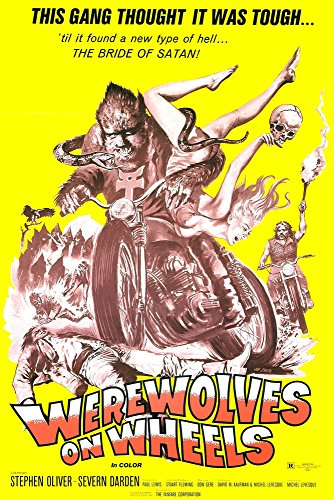 Werewolves On Wheels Poster 1971 Movie Poster Masterprint (24 x 36)