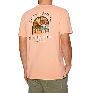 bac3dd3024b7d Ripcurl Rainbow Shades Tee Orange  Amazon.co.uk  Clothing