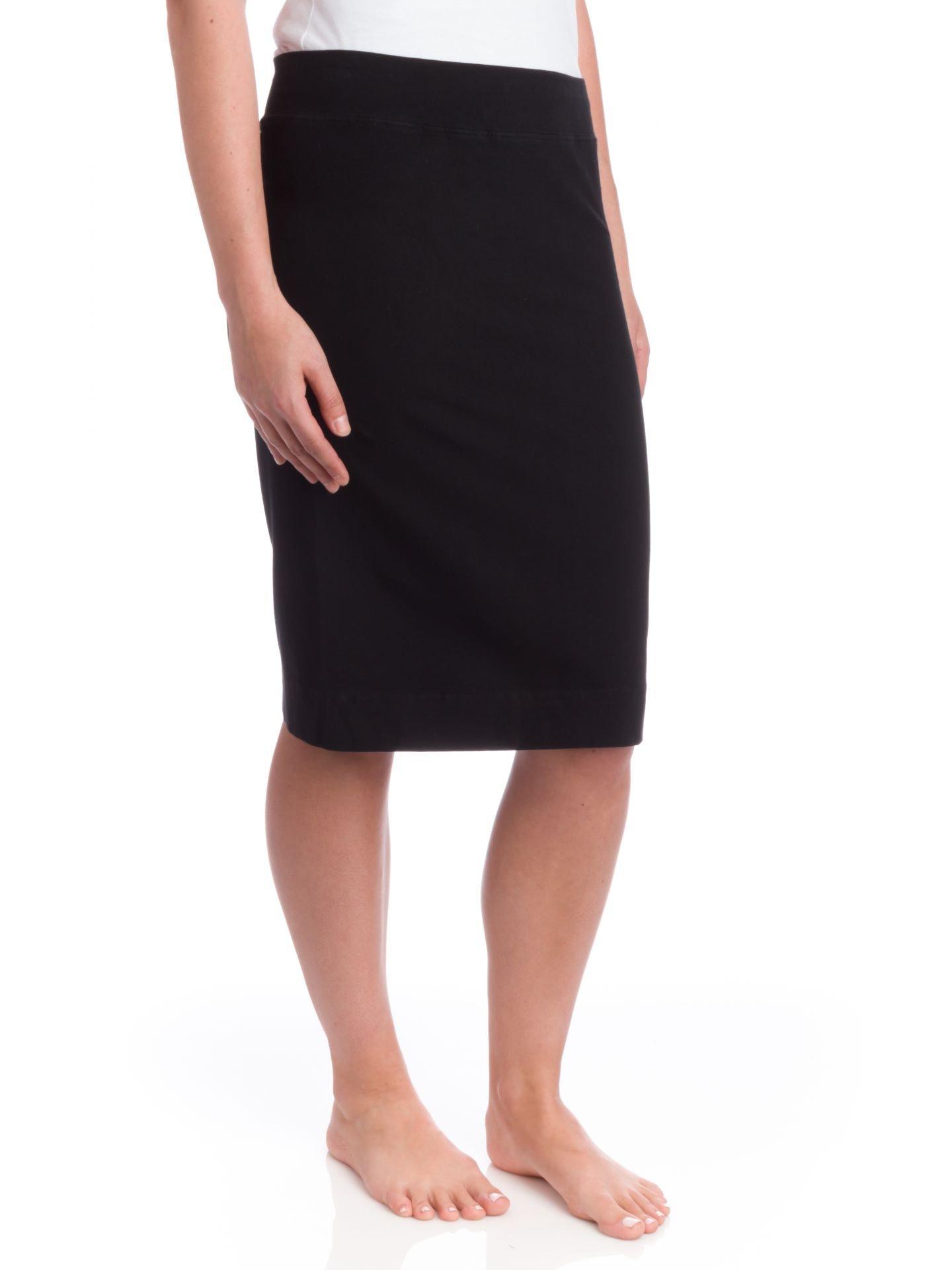Hard Tail Skinny Knee Skirt, Black, XSmall