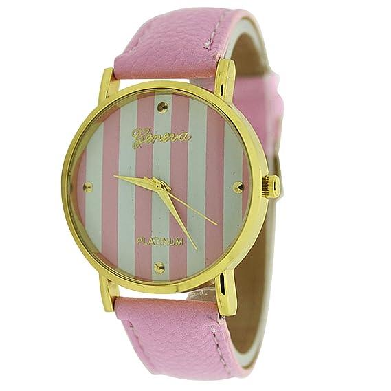 Geneva lw1407pink - Reloj para mujeres