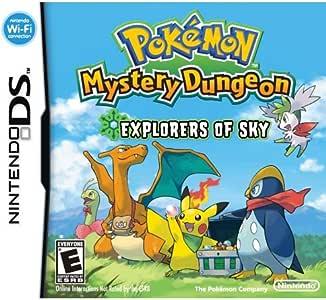 Nintendo Pokemon mystery dungeon explorers of the sky, SD - Juego ...