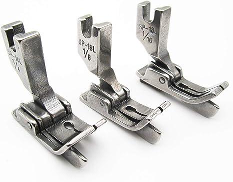 CKPSMS - Prensatelas para máquina de coser industrial (3 tamaños ...