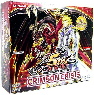 YuGiOh CCG 5D's Crimson Crisis Booster Pack Box ( 24 Booster Packs ) [Toy] by Yu-Gi-Oh!