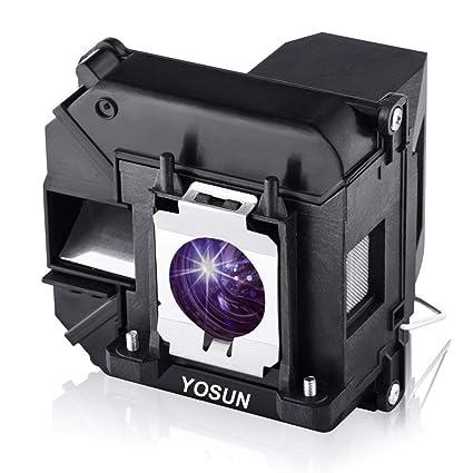 YOSUN - Bombilla de proyector para Epson PowerLite Home Cinema ...