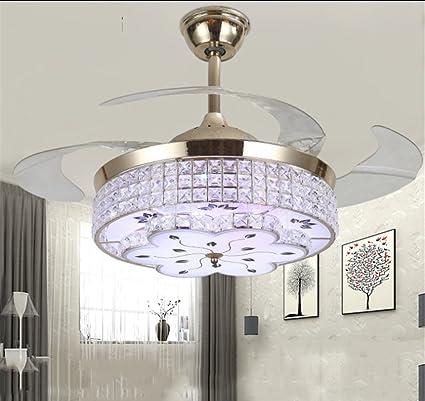 aorakilights moderno ventiladores de techo con luces LED ...