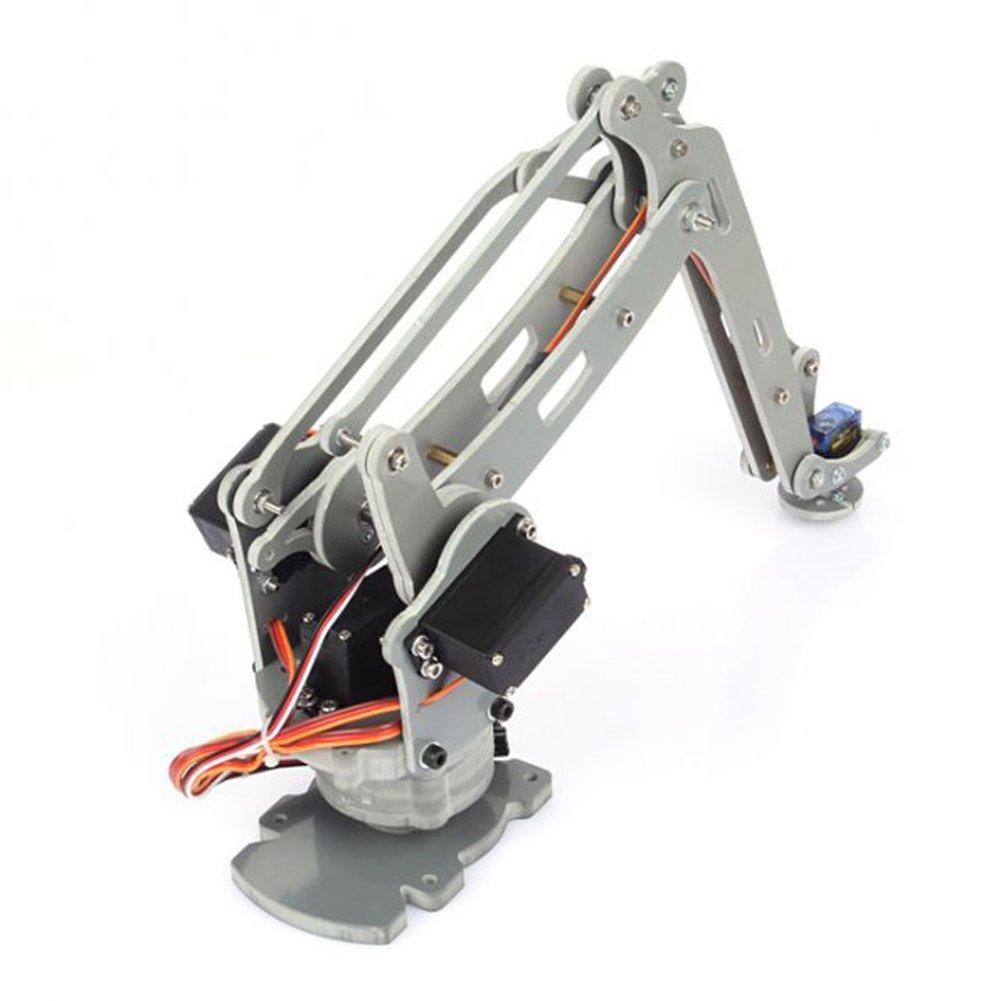 SainSmart Control Palletizing Robot Arm Brazo Robótico Model DIY w/Arduino Controller & Servos DIY (4-Axis): Amazon.es: Juguetes y juegos