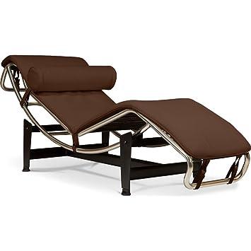 chaise longue interieur reglable corbusier