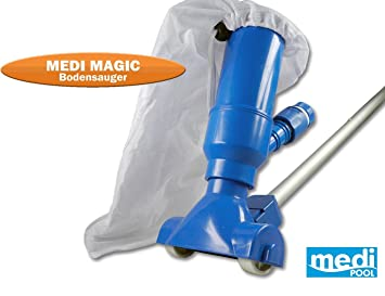 Medi Pool 22269 Medi Magic Aspiradora para la limpieza del suelo de la piscina: Amazon.es: Jardín