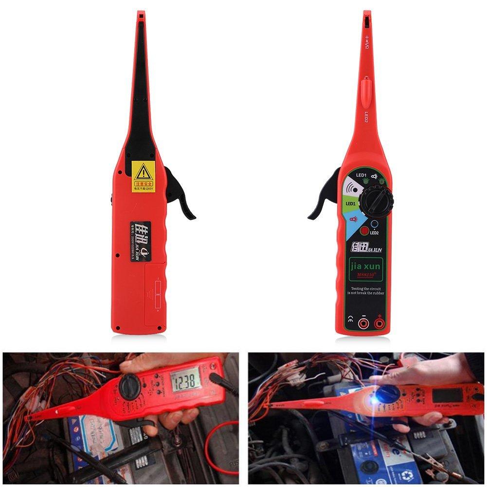 Qiilu Multifunction Auto Circuit Tester Multimeter Lamp Car Repair Electrical Diagnostic Tool by Qiilu (Image #4)