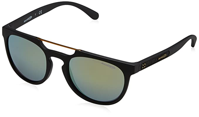 6c2e2e11c01 Arnette Men s Woodward Non-Polarized Iridium Rectangular Sunglasses matte  black 52.2 mm