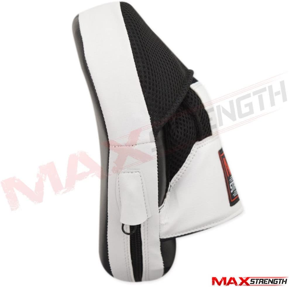 MAXSTRENGTH Womens Boxing Focus Pad Set Hook and Jab Punch Training Sparring Bag Gloves