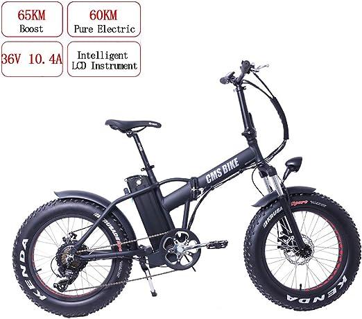 PXQ Adulto Plegable Bicicleta de montaña Endurance 60KM Velocidad ...