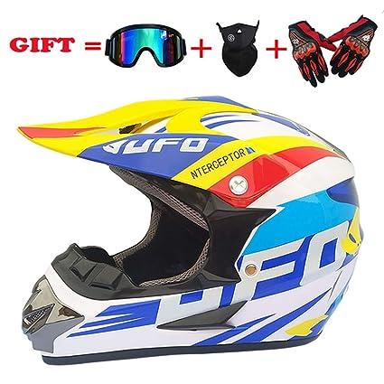 OJ Adulto Off-Road Casco, Dot Motocross ATV Casco/Gafas ...