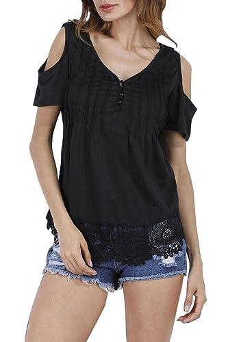 AEETE - Camisas - Túnica - Básico - para mujer