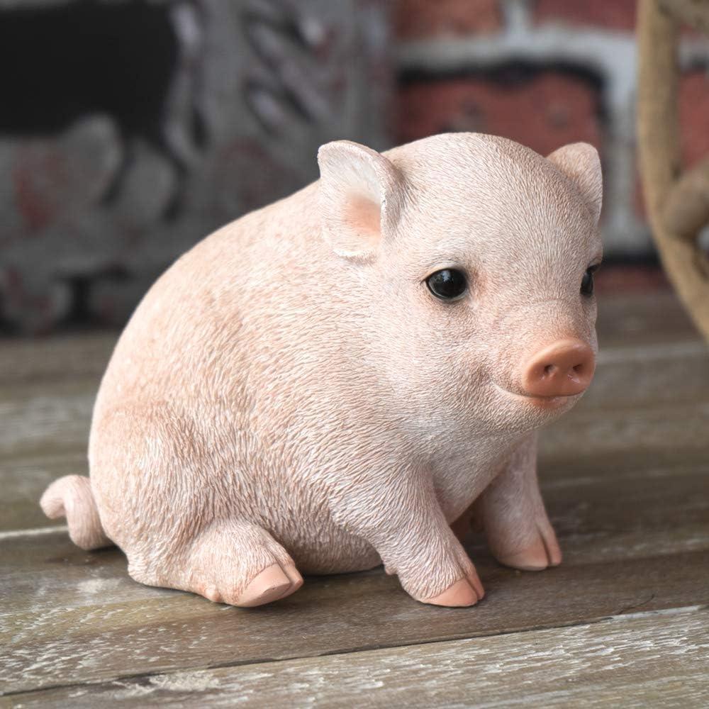 SUMMIT COLLECTION Farmhouse Decor Barnyard Designs Adorable Pig