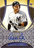 2017 Topps Five Star Baseball #FSA-AJ Aaron Judge Certified Autograph Rookie Card
