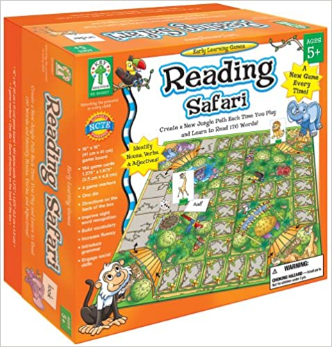 Read Reading Safari: Create a New Jungle Path Each Time You Play and Learn to Read 176 Words! PDF, azw (Kindle)